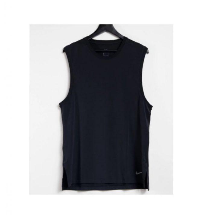 Nike Yoga DRY fekete férfi trikó