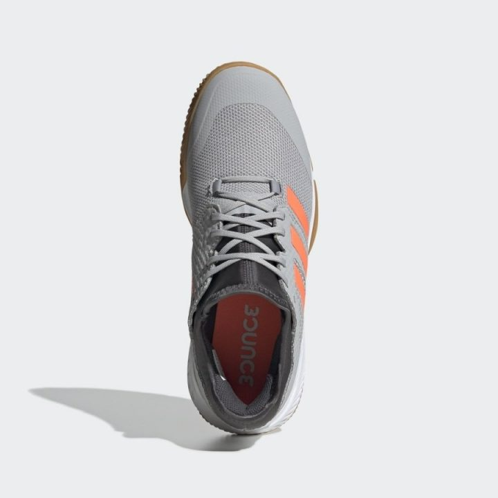 Adidas Court Team Bounce szürke férfi kézilabdacipő