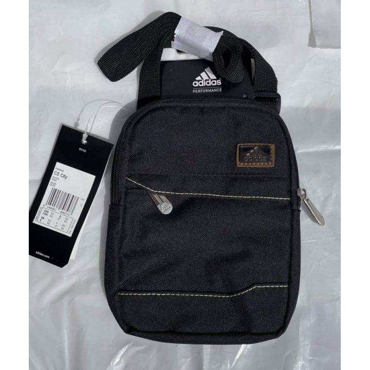 Adidas CS City fekete oldaltáska
