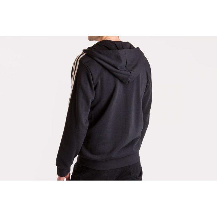 Adidas Essentails 3 fekete férfi pulóver