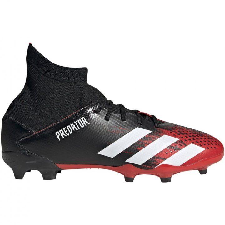 Adidas Predator 20.3 FG fekete fiú focicipő