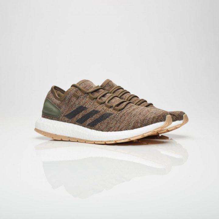 Adidas PureBoost All Terrain zöld férfi futócipő