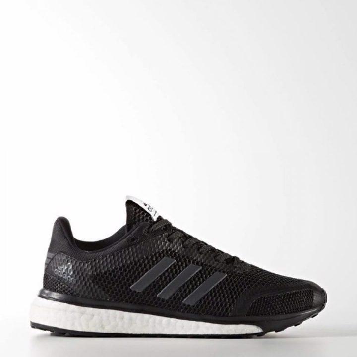 Adidas Response+ fekete férfi futócipő