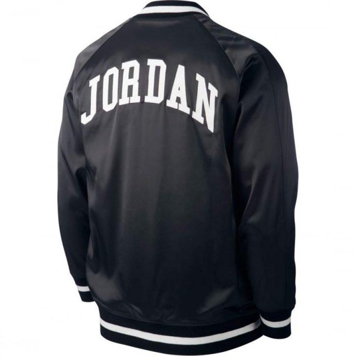 Jordan He Got fekete férfi dzseki