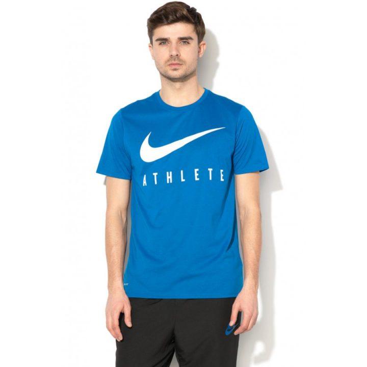 Nike Athlete Dry kék férfi póló