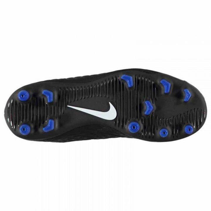 Nike JR Hypervenom Phade III FG fekete fiú focicipő