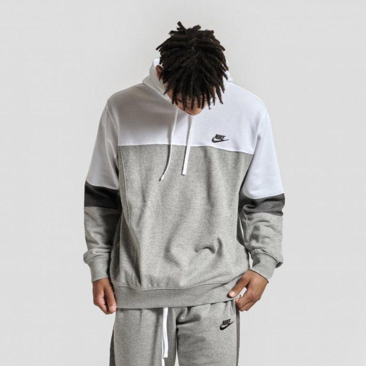 Nike Sportswear Hoodie szürke férfi pulóver