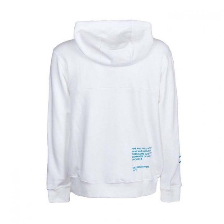 Nike Swoosh fehér férfi pulóver