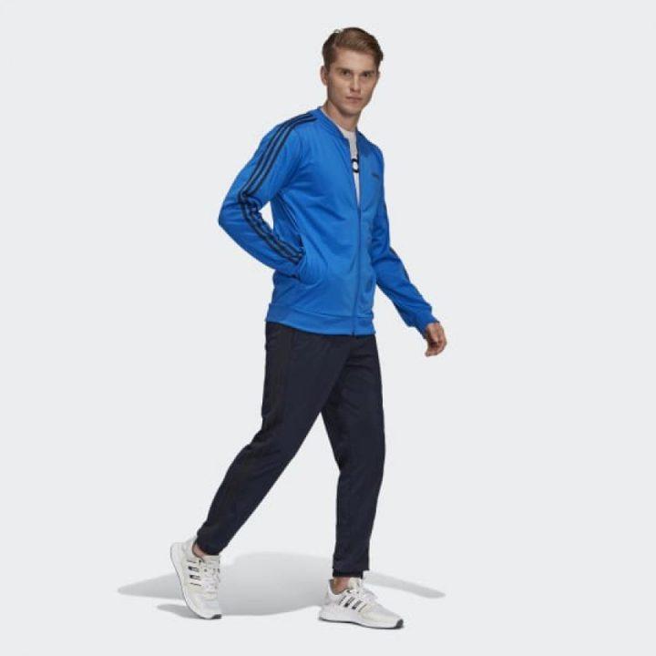 Adidas 3-Stripes kék férfi melegítő együttes