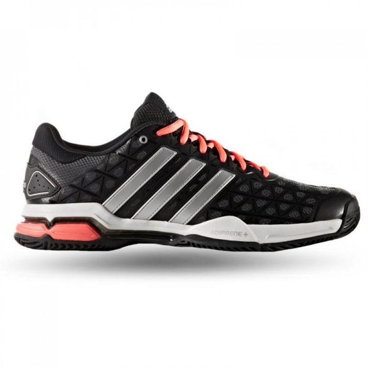 Adidas Barricade Club fekete férfi teniszcipő