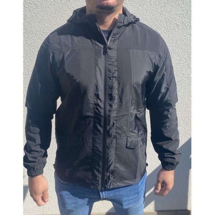 Adidas fekete férfi dzseki