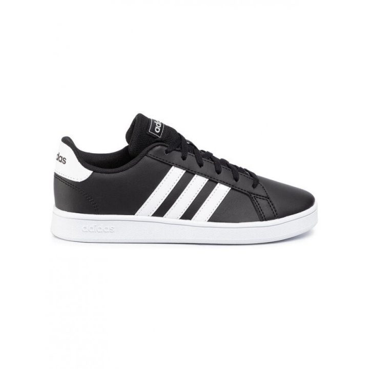 Adidas Grand Court K fekete utcai cipő