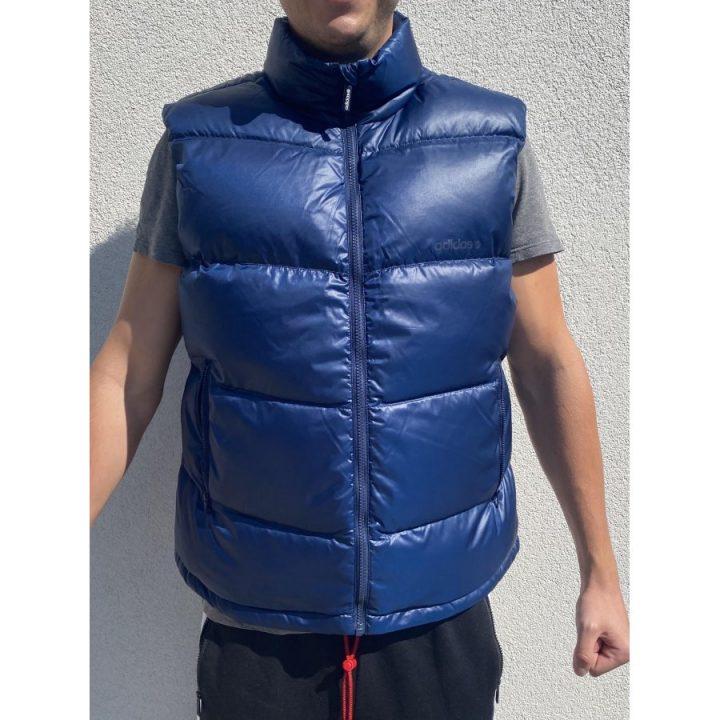 Adidas kék férfi mellény
