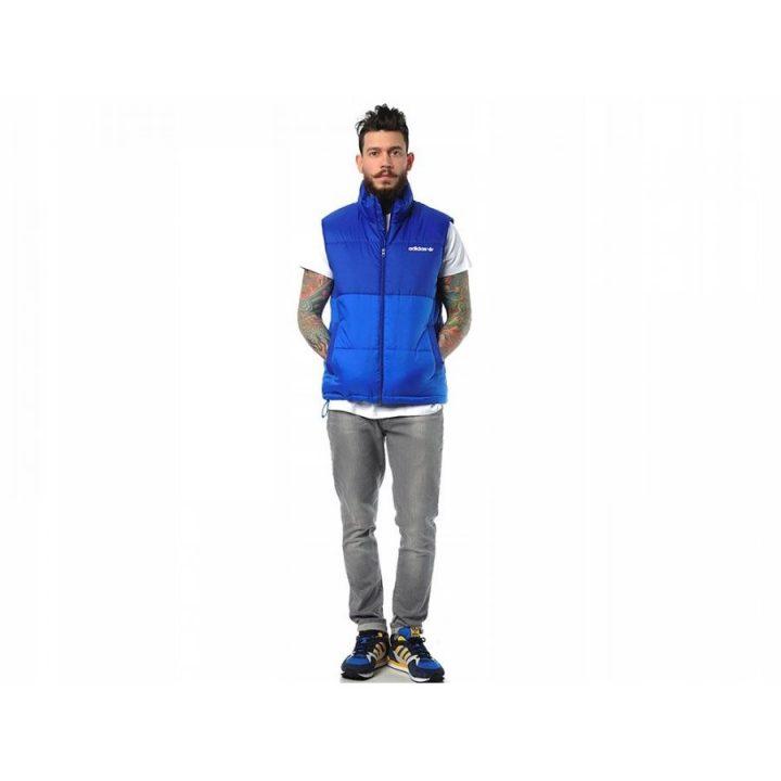 Adidas Originals kék férfi mellény