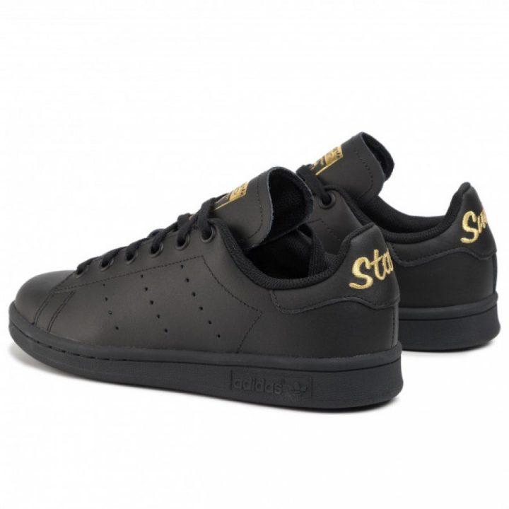 Adidas Stan Smith J fekete utcai cipő