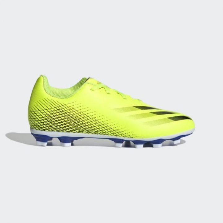 Adidas X Ghosted .4 FxG J sárga fiú focicipő