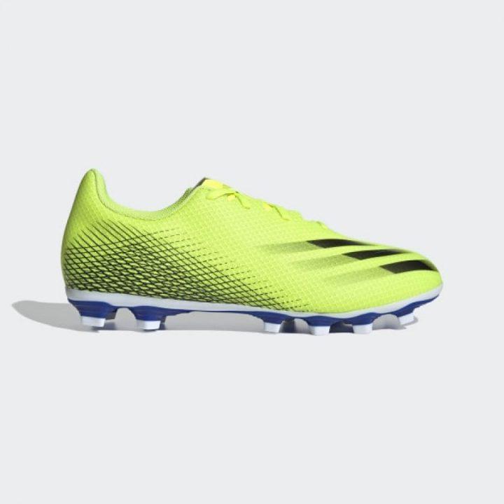 Adidas X Ghosted.4 FxG sárga férfi focicipő
