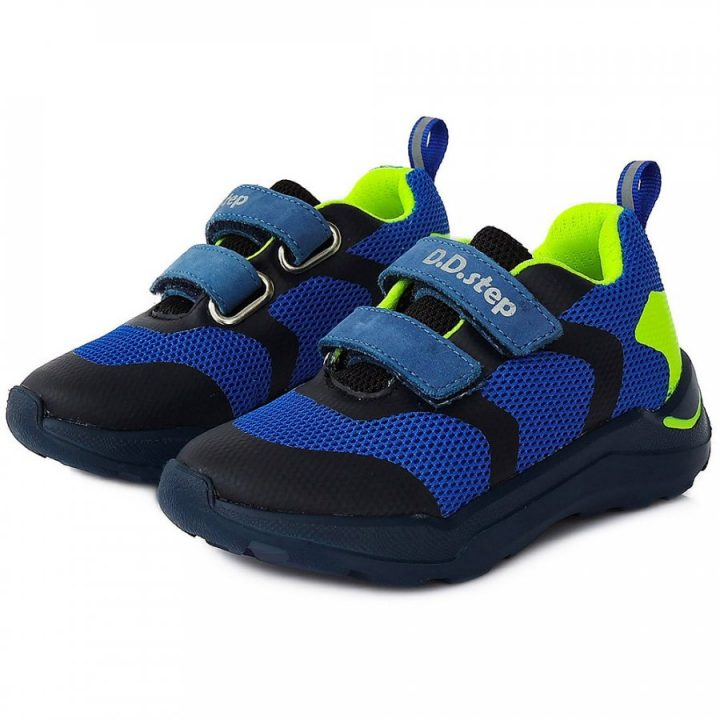D.D Step kék fiú utcai cipő