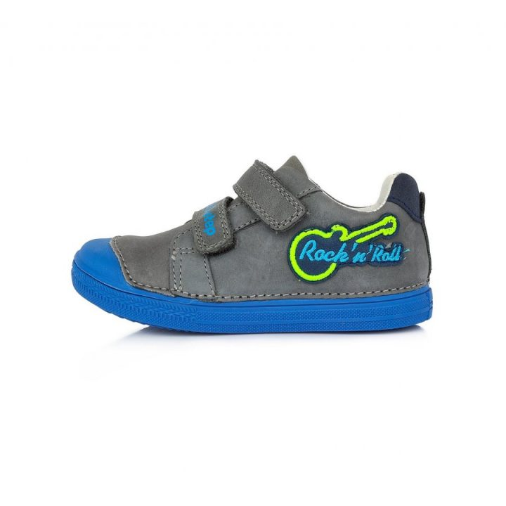 D.D Step szürke fiú utcai cipő