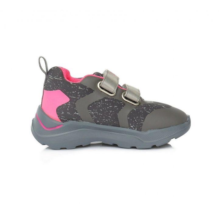 D.D Step szürke lány utcai cipő