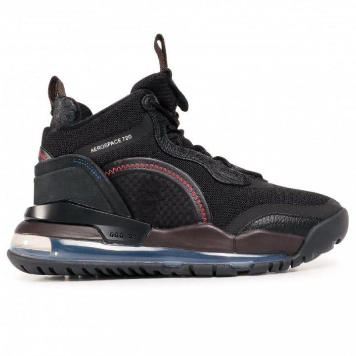 Jordan Aerospace fekete férfi utcai cipő