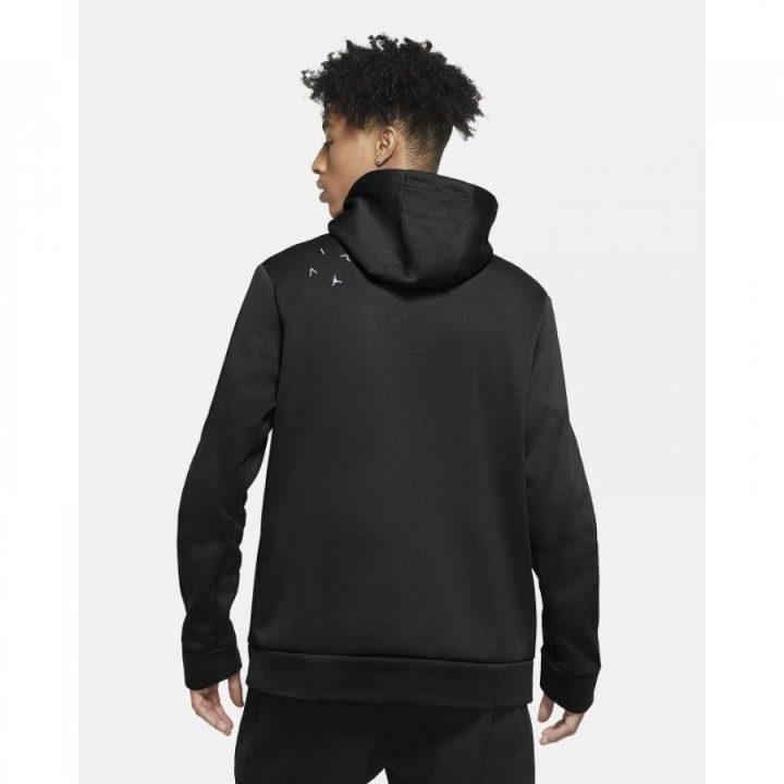 Jordan Air Therma fekete férfi pulóver