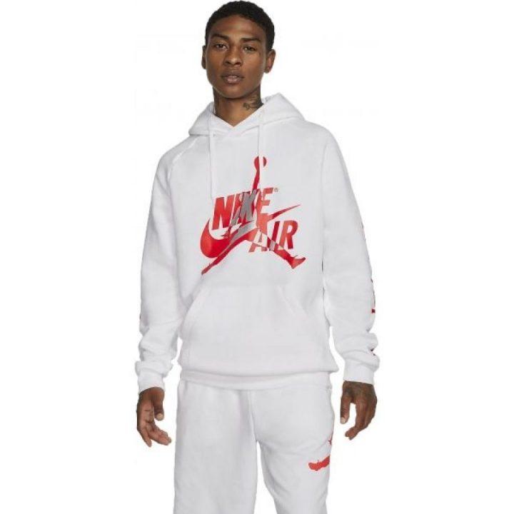 Jordan Classic FCL fehér férfi pulóver