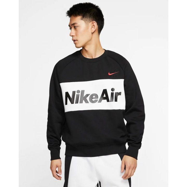 Nike Air fekete férfi pulóver