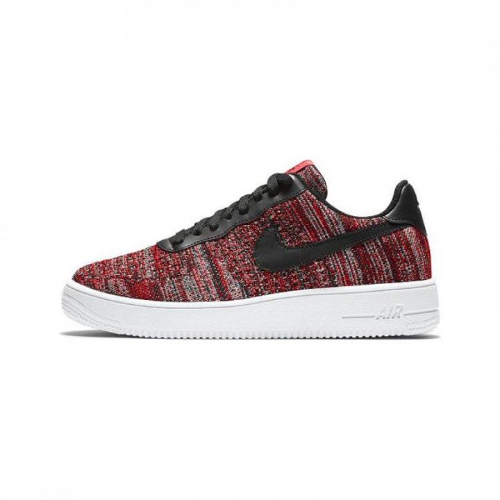 Nike Air Force 1 Flyknit 2.0 piros utcai cipő