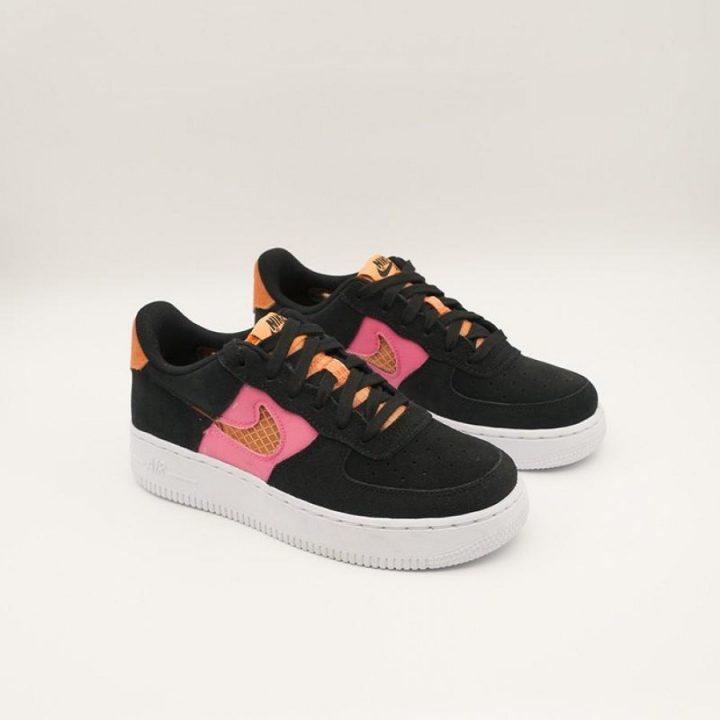 Nike Air Force 1 LV8 fekete férfi utcai cipő