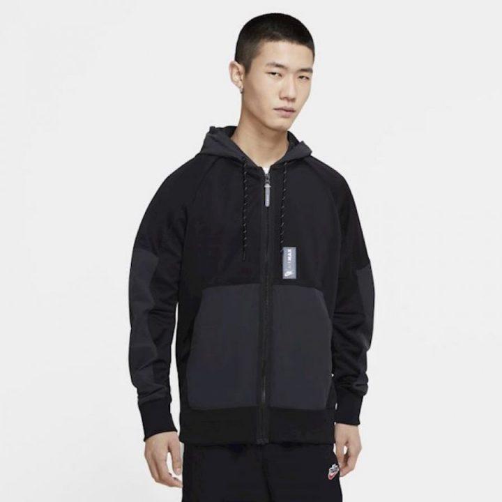Nike Air Max fekete férfi pulóver
