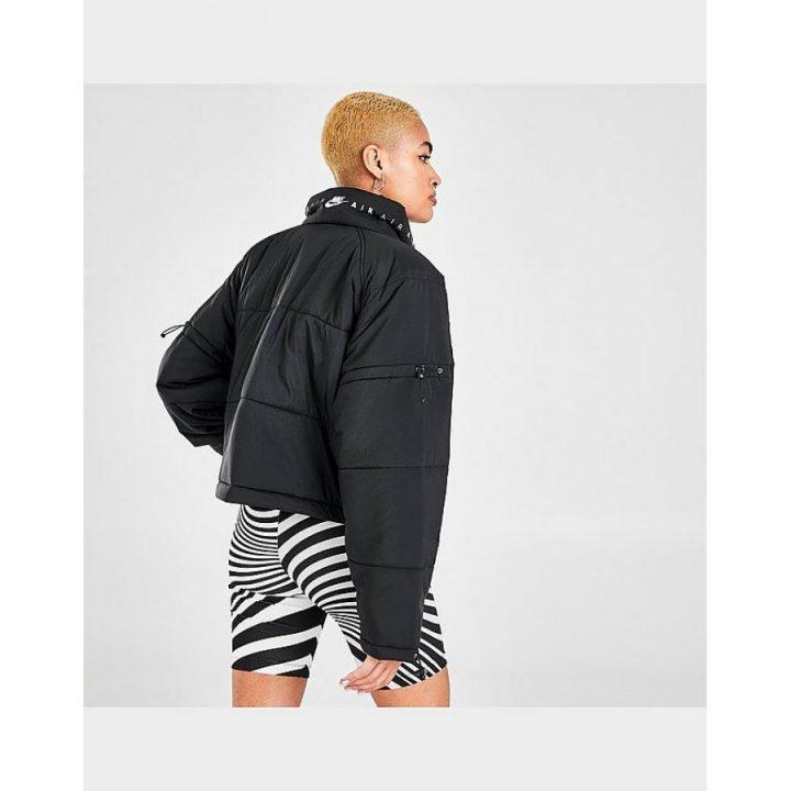 Nike Air Synthetic-fill fekete női kabát