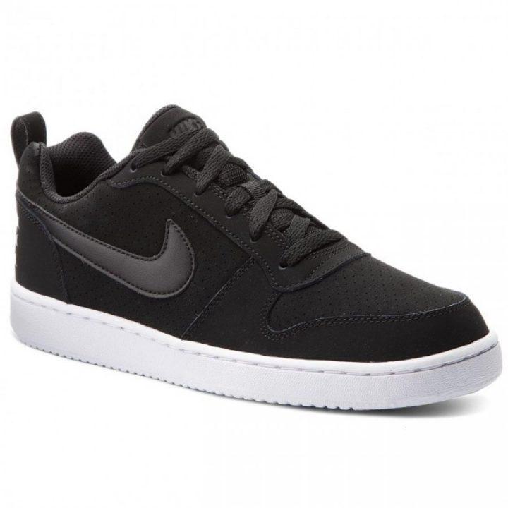 Nike Court Borough LOW fekete utcai cipő