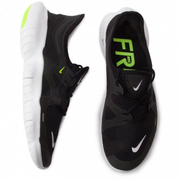 Nike Free Rn 5.0 fekete férfi utcai cipő