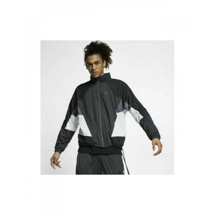 Nike Hooded fekete férfi dzseki