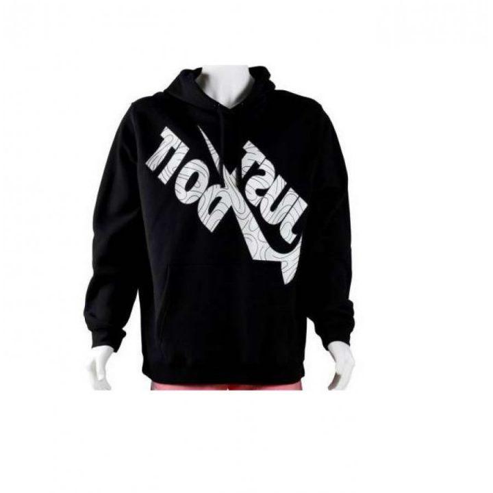 Nike Just Do It fekete férfi pulóver