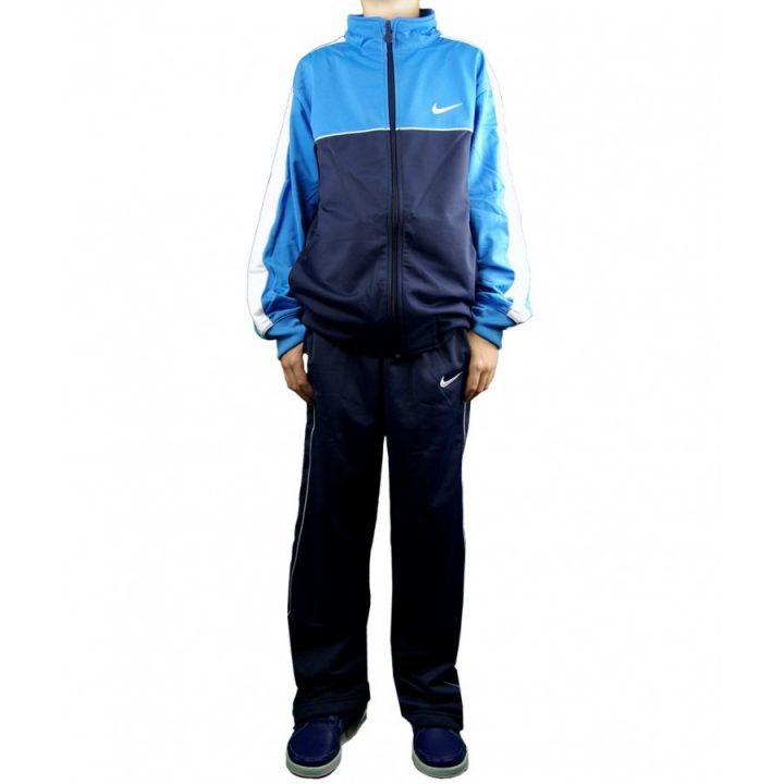 Nike kék fiú melegítő együttes