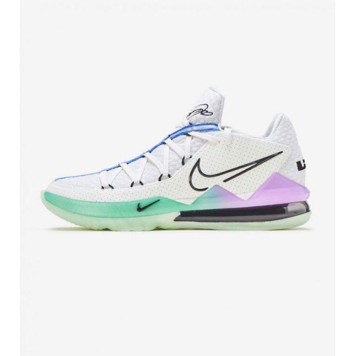 Nike Lebron XVII Low fehér férfi kosárlabdacipő