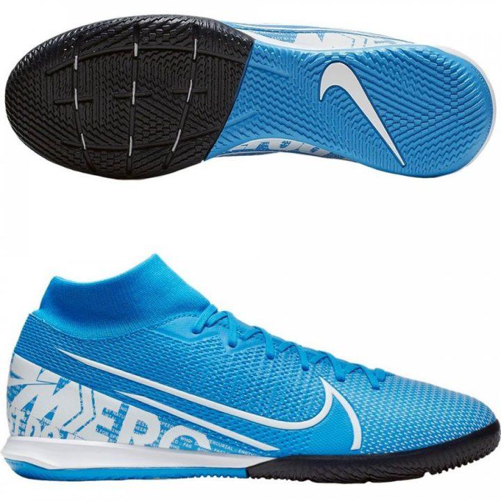 Nike Mercurial Superly 7 kék férfi teremcipő