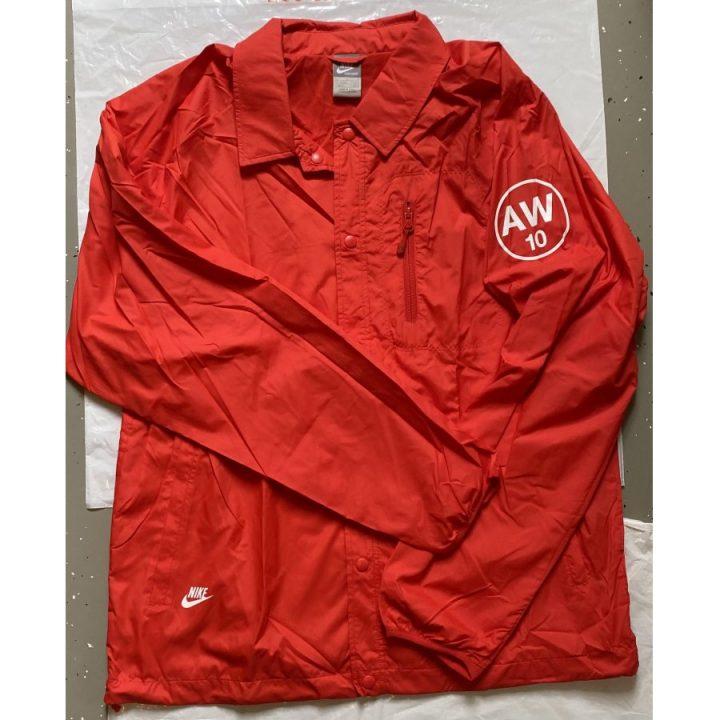 Nike piros férfi dzseki