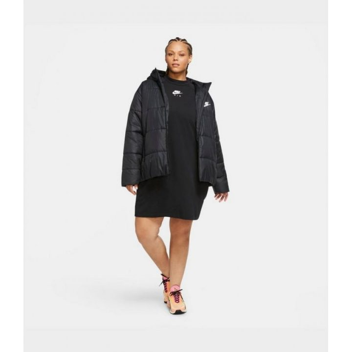 Nike Plus Synthetic fekete női kabát