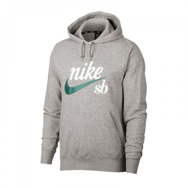 Nike SB szürke férfi pulóver