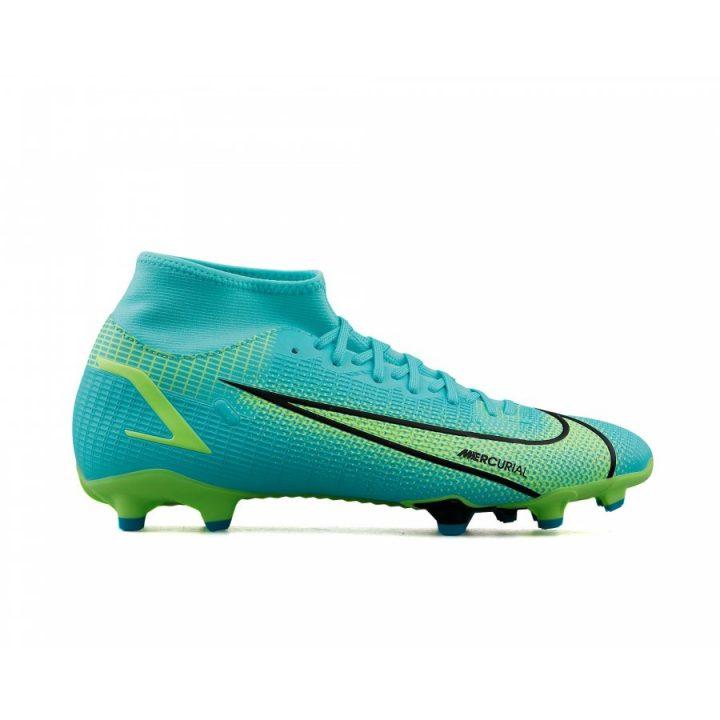 Nike Superfly 8 Academy FG/MG zöld férfi focicipő