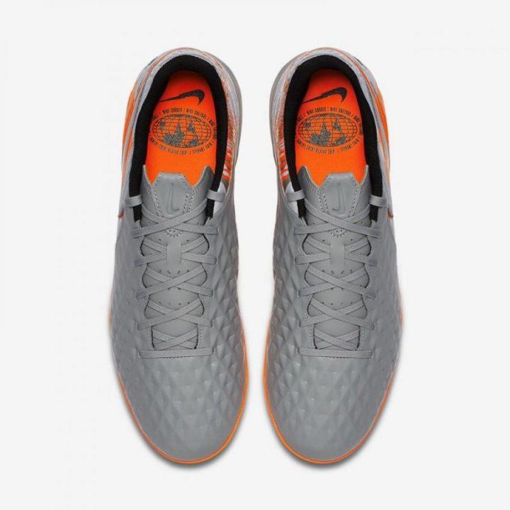 Nike Tiempo Legend VIII TF szürke férfi focicipő