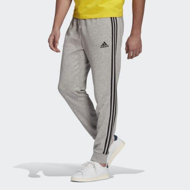 Adidas Essentials szürke férfi melegítőnadrág