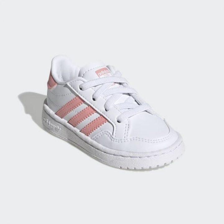 Adidas Team Court EL l fehér lány utcai cipő