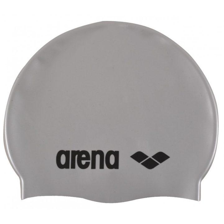 Arena Classic Silicone szürke férfi úszósapka