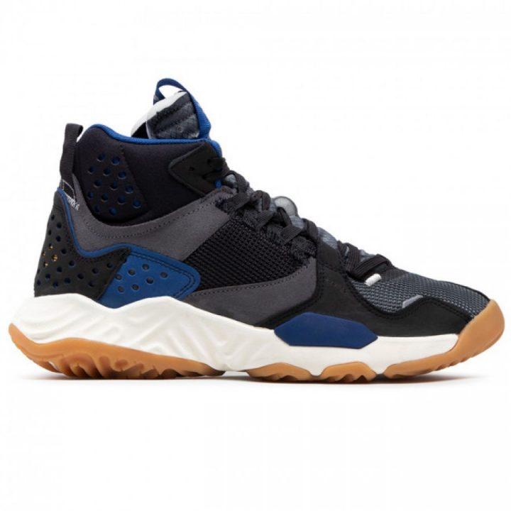 Jordan Delta MID fekete férfi utcai cipő