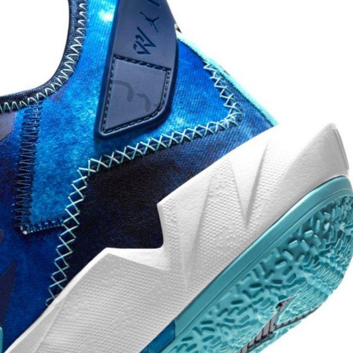Jordan Why Not Zero 0.4 kék férfi kosárlabdacipő