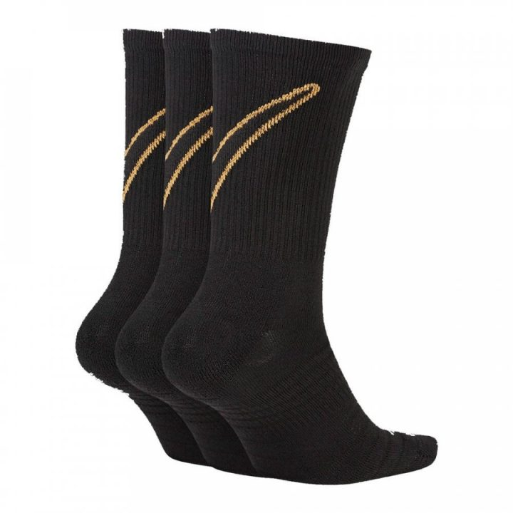 Nike 3 pár fekete zokni